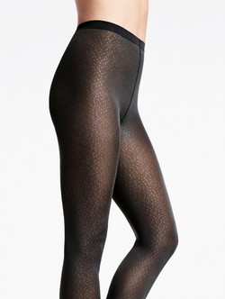 Spots Tights Noir WOLFORD