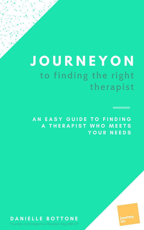 JourneyOn to Finding the Right Therapist.