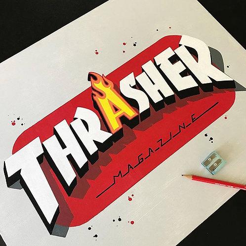 TRASHER | Original Art Work
