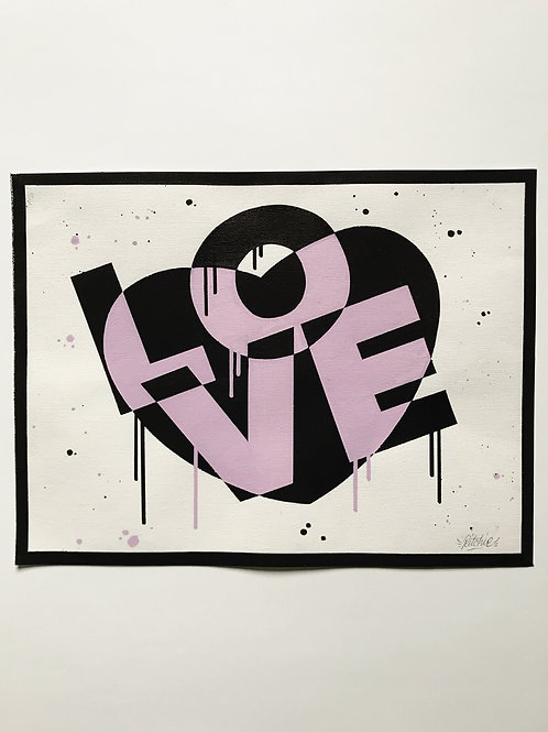LOVE NO1 | Original Art Work