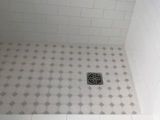 Classic Yet Stunning Shower Tiles