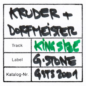 Legendary Trip-hop duo & Label headsKruder & Dorfmeister share their new single 'King Size'