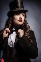 Marlene Dietrich Inspired Look