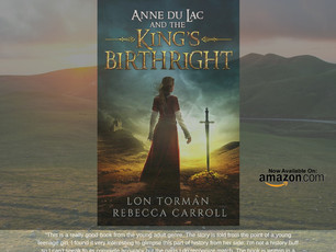 Anne Du Lac and the King's Birthright is available for #Amazon #Kindle. Learn more here: http://