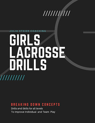 Girl's Lacrosse Skills and Drills eBook
