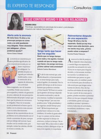 Colaboración Revista Prevenir