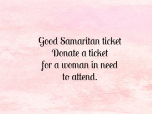 Good Samaritan Ticket