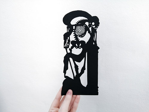Despair Papercut Illustration