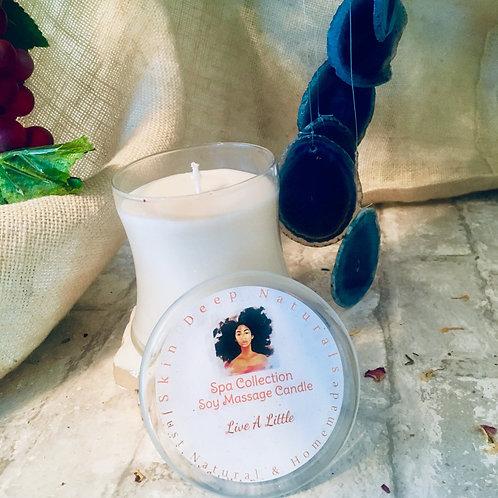 Lavender Cinnamon Soy Massage Candle
