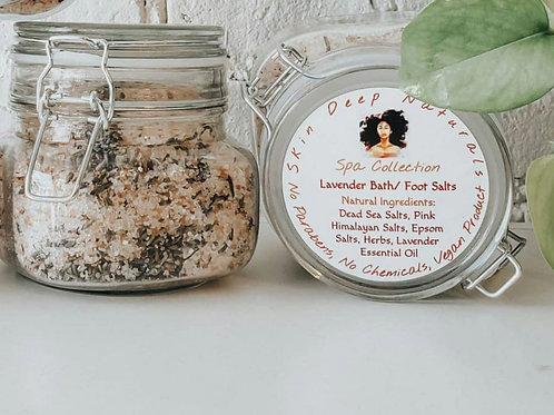 Lavender Rejuvenating Bath/Foot Soak