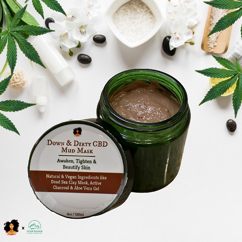 Down & Dirty CBD Mud Mask