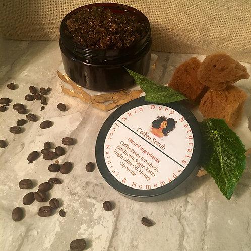 Coffee Facial & Body Scrub