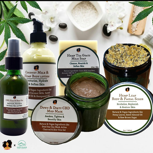 CBD Skin Care Basket