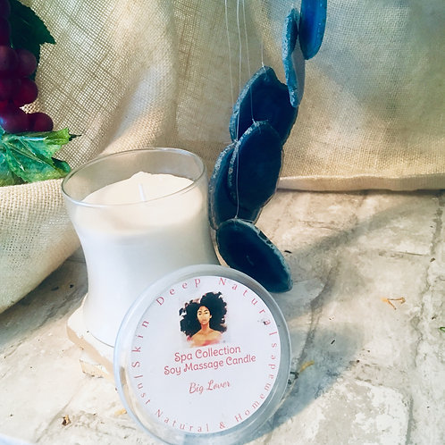 Vanilla & Frankincense Soy Massage Candle