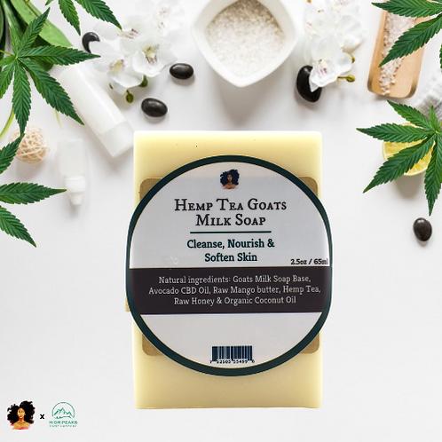 Hemp Tea Goats Milk Soap