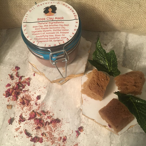Sweet Rose Clay Mask