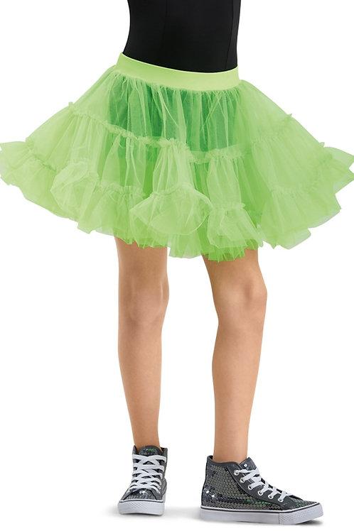 Petticoat tiered skirt