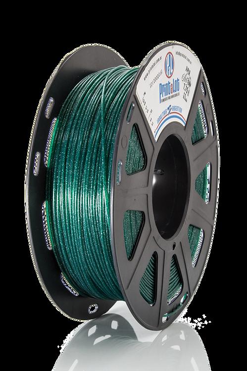Filamento PrintaLot PLA Art Glam Translúcido Verde - 1,75mm - 1kg