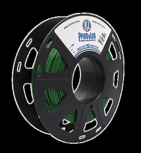 Filamento Flex Verde - 1,75mm - 500gr