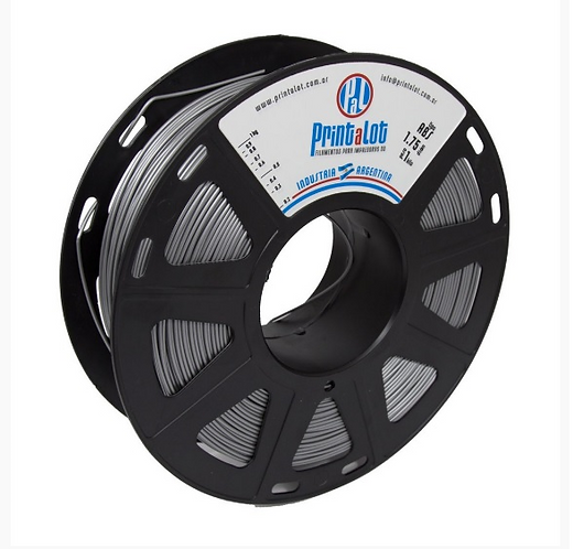 Filamento PrintaLot ABS Metalizado Prata - 1,75mm - 1kg