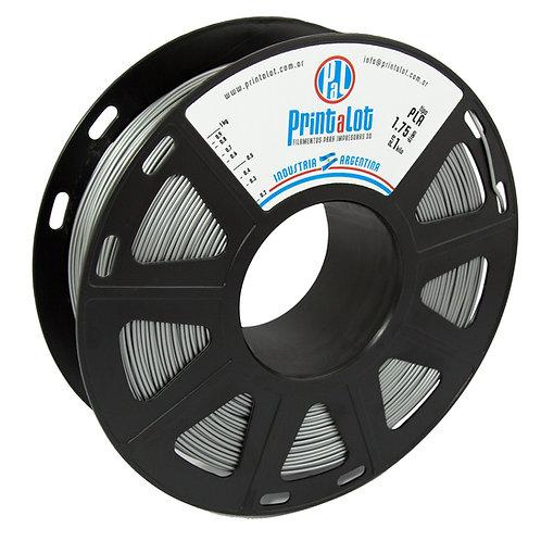 Filamento PLA Metalizado Prata - 2,85mm - 1kg