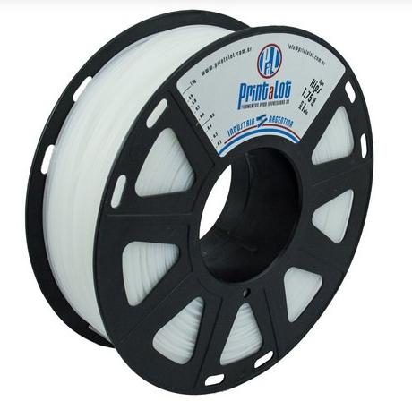 Filamento HIPS Branco - 1,75mm - 1kg
