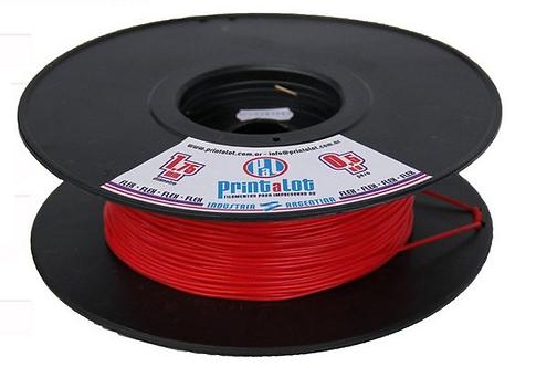 Filamento Flex Vermelho - 1,75mm - 500gr