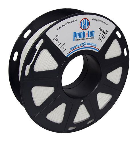 Filamento PrintaLot PLA Max Branco - 1,75mm - 1kg
