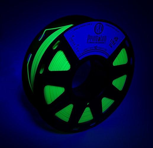 Filamento PrintaLot PLA Fluorescente Amarelo - 1,75mm - 1kg