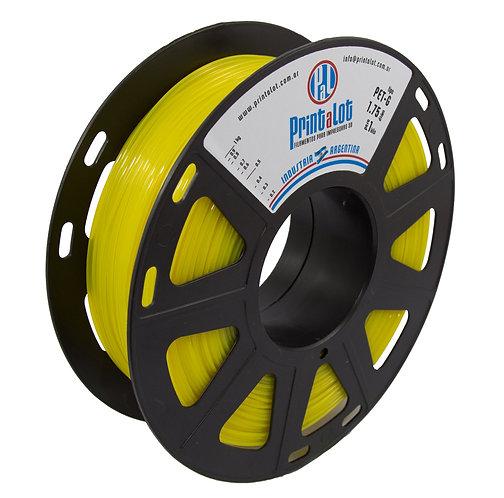 Filamento PrintaLot PETG Translúcido Amarelo - 1,75mm - 1kg