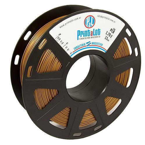 Filamento PLA Metalizado Cobre - 1,75mm - 1kg