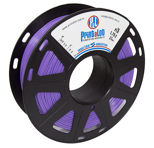 Filamento PrintaLot PLA Violeta - 1,75mm - 1kg