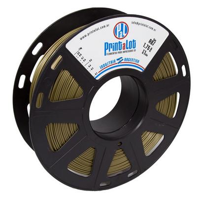 Filamento PrintaLot ABS Metalizado Dourado - 1,75mm - 1kg