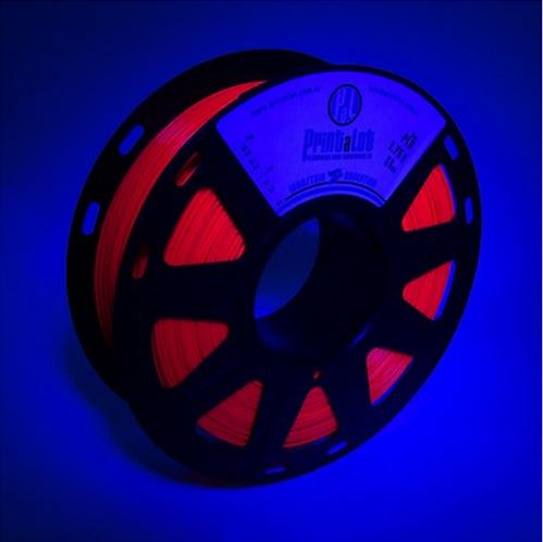 Filamento PrintaLot PLA Fluorescente Fúcsia - 1,75mm - 1kg