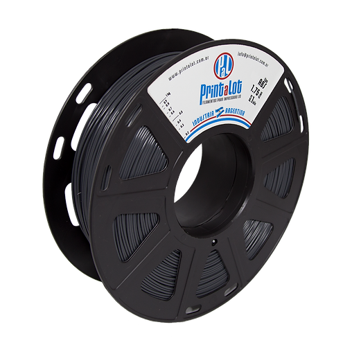 Filamento PrintaLot ABS Cinza - 2,85mm - 1kg