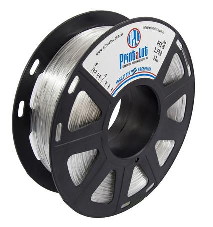 Filamento PrintaLot PETG Translúcido Natural - 2,85mm - 1kg