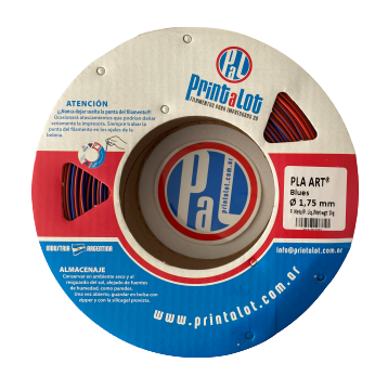 Filamento PLA Art Due Blues - 1,75mm - 250 g