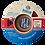 Thumbnail: Filamento PrintaLot PLA Art Due Blues - 1,75mm - 250 g