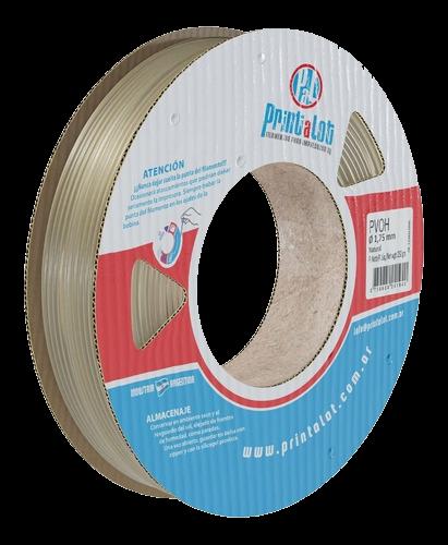 Filamento PrintaLot PVOH Translúcido Natural - 1,75mm - 250 g