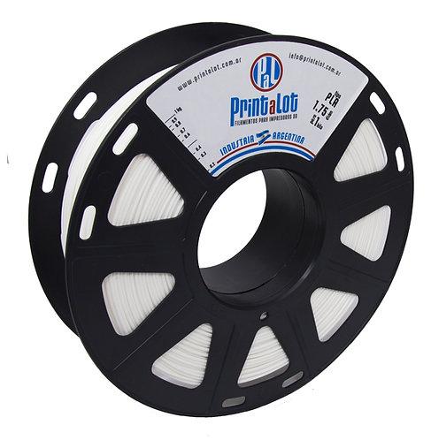 Filamento PrintaLot PLA Branco - 1,75mm - 1kg