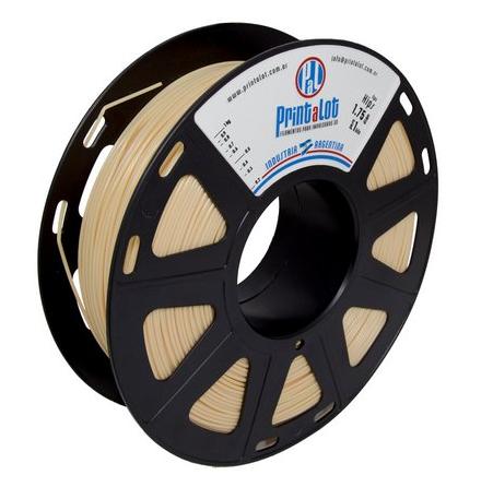 Filamento HIPS Beje - 1,75mm - 1kg