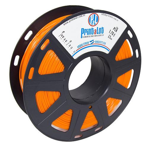 Filamento PrintaLot PLA Laranja - 2,85mm - 1kg