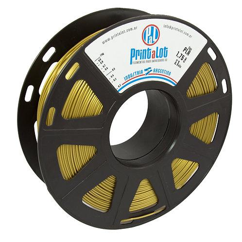 Filamento PrintaLot PLA Amarelo Mostarda - 1,75mm - 1kg