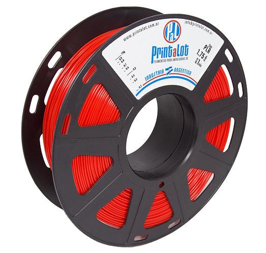 Filamento PrintaLot PLA Vermelho - 1,75mm - 1kg