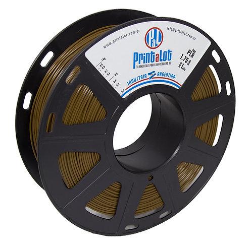 Filamento PrintaLot PLA Chocolate - 1,75mm - 1kg