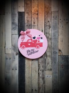 Valentine Truck Sign