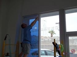 Installing Solar Reflective Film