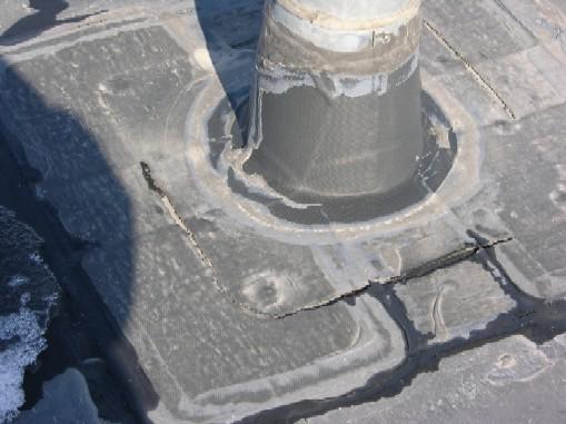 Single Ply Penetration Leak