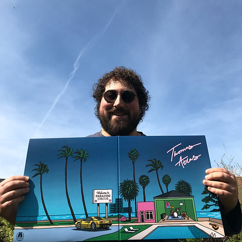 Thomas Atlas Signed Blue Vinyl