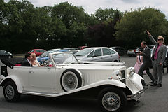 Wedding Cars Worcestershire